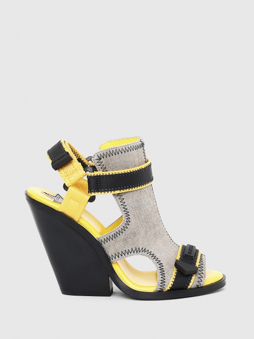 Diesel P2187 - Grey - 38 Sandals