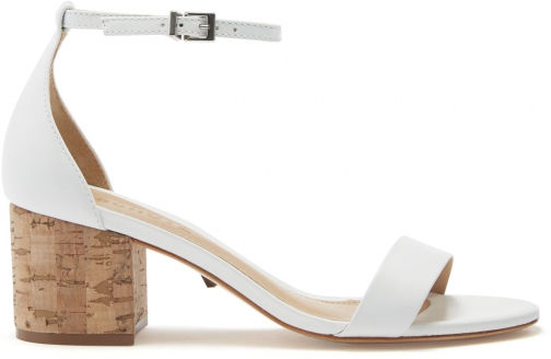 Schutz Shoes Chimes Sandal - 8 White Leather Sandals