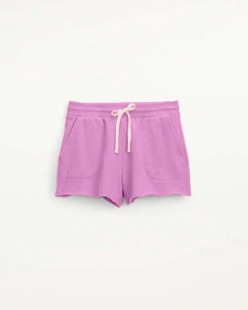 Splendid Womens Eco 100% Recycled Shortss Orchid - Size L Short