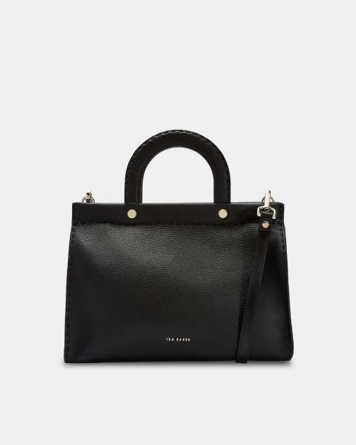 Ted Baker Stab Stitch Midi Leather Tote