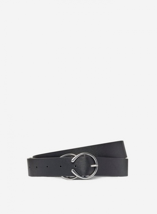 Dorothy Perkins Dp Curve Black Double Buckle Belt