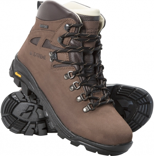 Mountain Warehouse Excalibur Womens Vibram Waterproof - Brown Boot