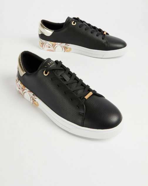 Ted Baker Deco Printed Sole Trainer