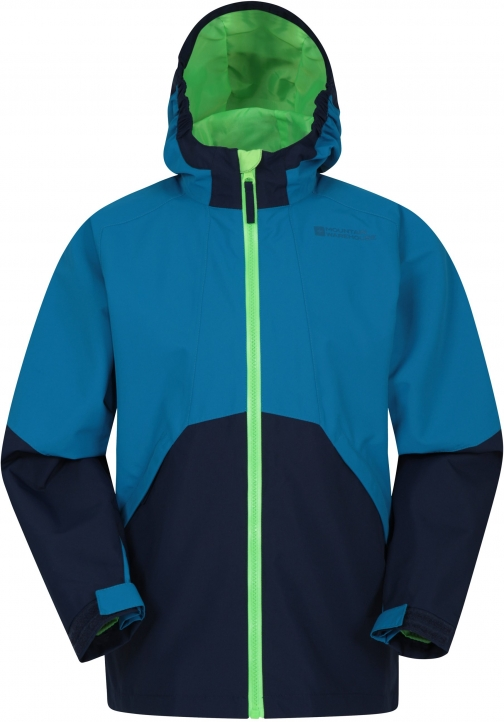 Mountain Warehouse Ellesmere Extreme Kids Waterproof - Blue Jacket