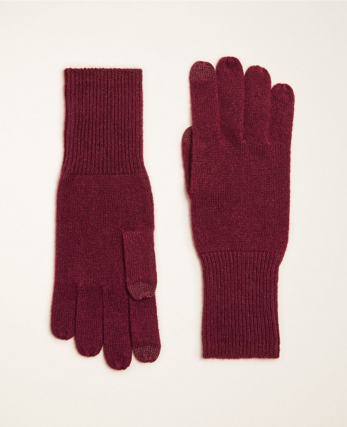 Ann Taylor Ribbed Cashmere Glove