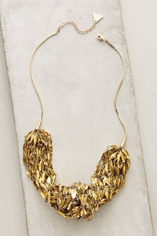 Anthropologie Oro Bib Necklace