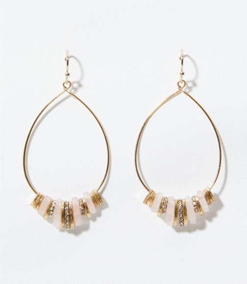 Loft Crystal Stone Drop Earring