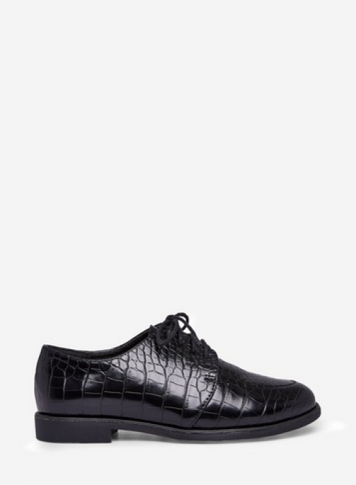 Dorothy Perkins Black 'Legacy' Lace Up Brogues