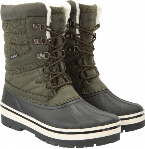 Mountain Warehouse Andorra Womens - Green Snow Boot