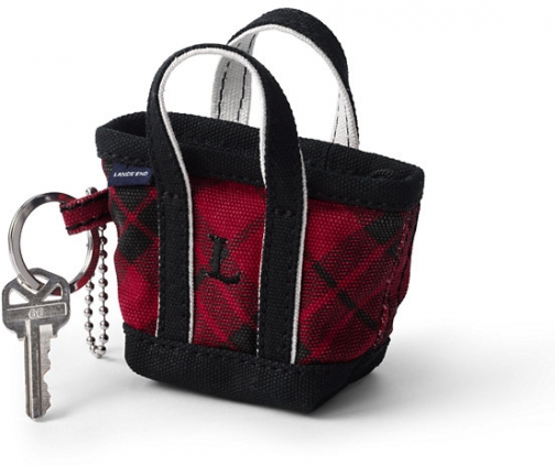 Lands' End Canvas Keychain - Lands' End - Red Tote