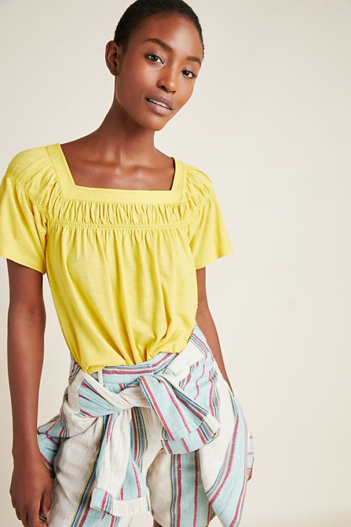 Anthropologie Beaufort Top Shirt