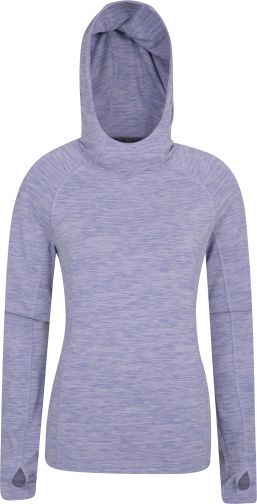 Mountain Warehouse Bend And Stretch Womens - Purple Hoodie