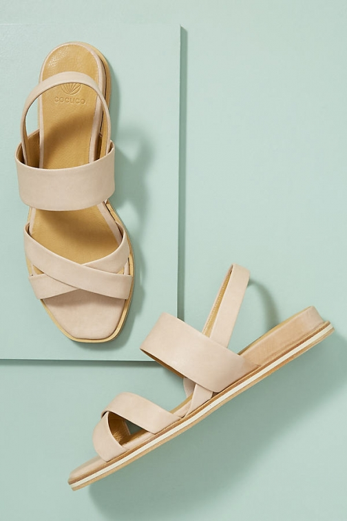 Anthropologie Coclico Katrin Leather Sandals