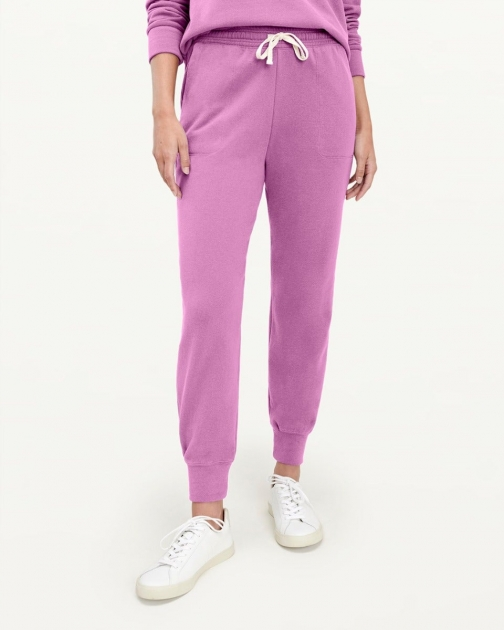 Splendid Womens Eco 100% Recycled Orchid - Size L Jogger