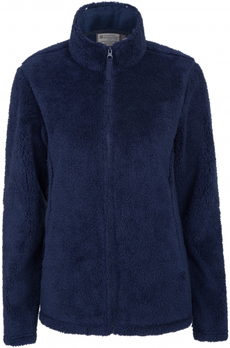 Mountain Warehouse Walkabout Sherpa Full Zip Womens Fleece - Navy