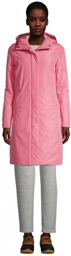 Lands' End Women's Insulated - Lands' End - Pink - XS Raincoat