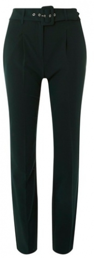 Dorothy Perkins Womens **Tall Green Belted - Green, Green Tapered Trouser