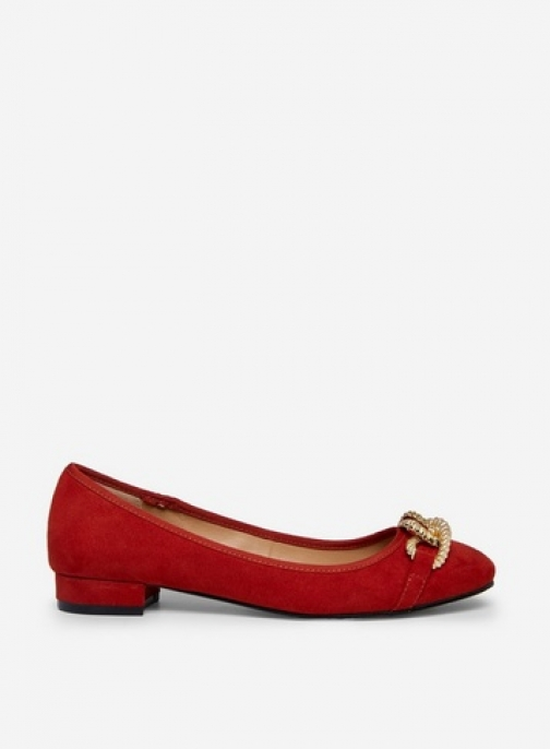 Dorothy Perkins Wide Fit Rust 'Porto' Pumps