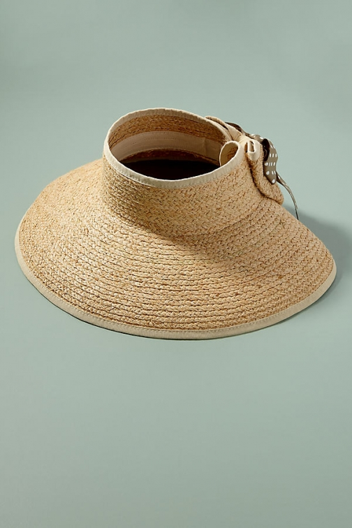 Anthropologie Packable Floppy Straw Hat