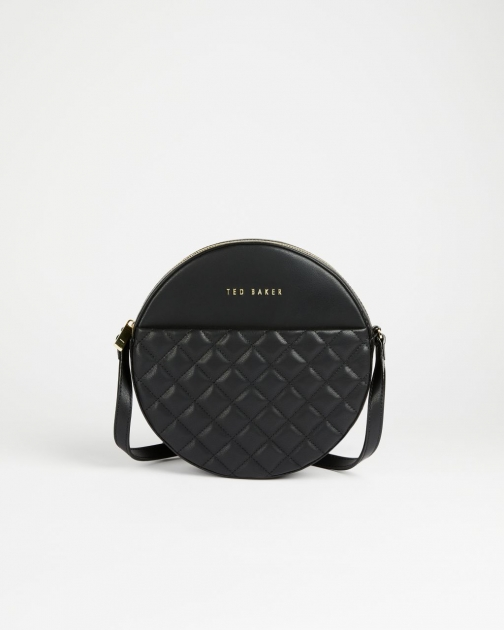 Ted Baker Quilted Circle Small Crossbody Bag