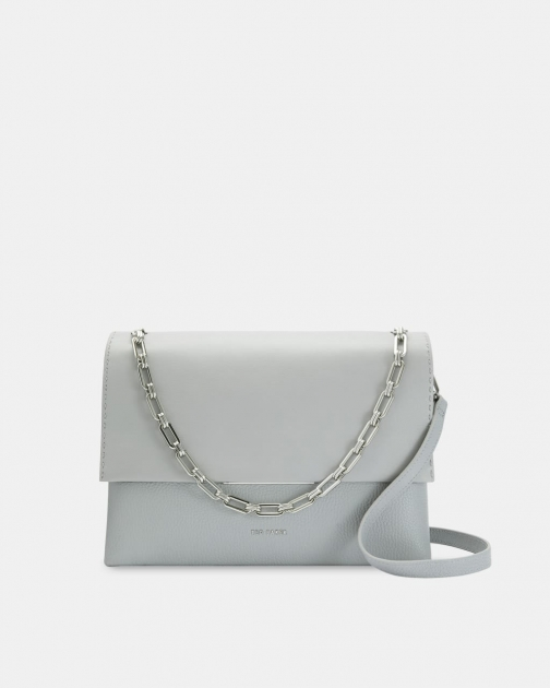 Ted Baker Bar Detail Leather Shoulder Bag