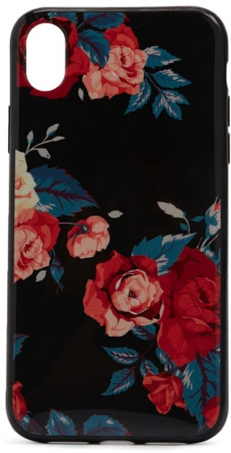 Forever21 Forever 21 Floral Phone For IPhone XR Black/multi Case