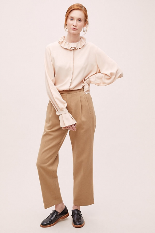 Anthropologie Miley Taillored Trousers Trouser