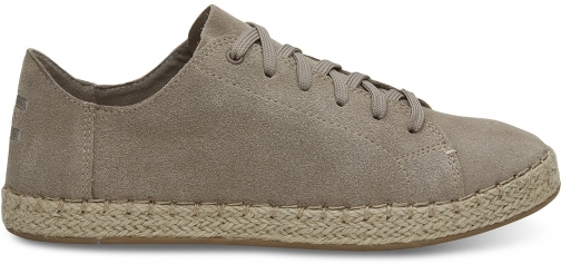 Toms TOMS Desert Brown Suede Women's Lena Espadrille Sneakers Shoes - Size UK6 / US8 Espadrille