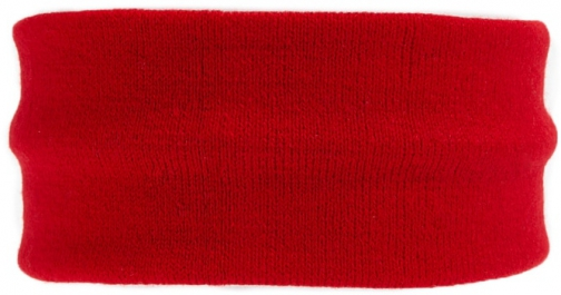 Forever21 Forever 21 Ribbed Knit Headband Red Headwear
