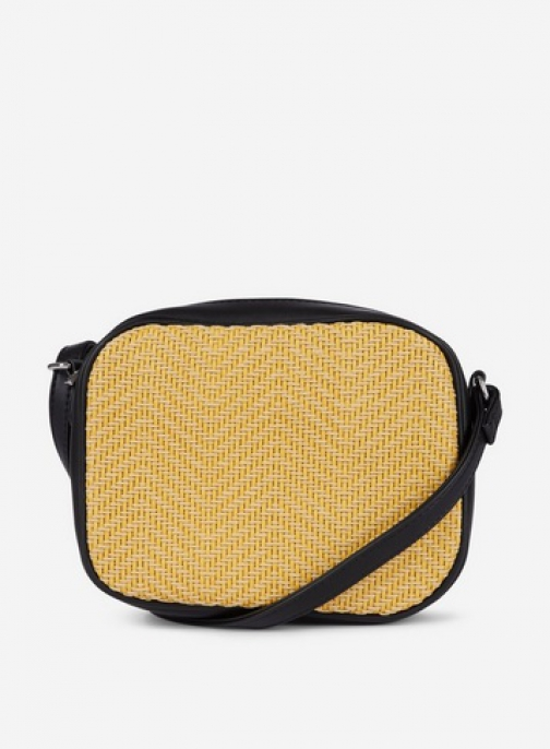 Pieces Lemon 'Bitten' Cross Body Bag Crossbody Bag