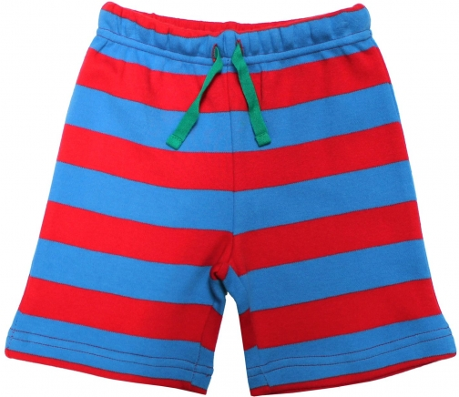 Toby Tiger Boys Blue And Red Stripe Short
