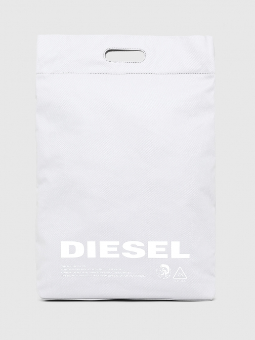 Diesel Shopping And PR402 - White Shoulder Bag