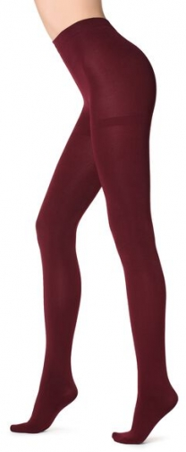 Calzedonia Thermal Super Opaque Woman Red Size 1/2 Tight
