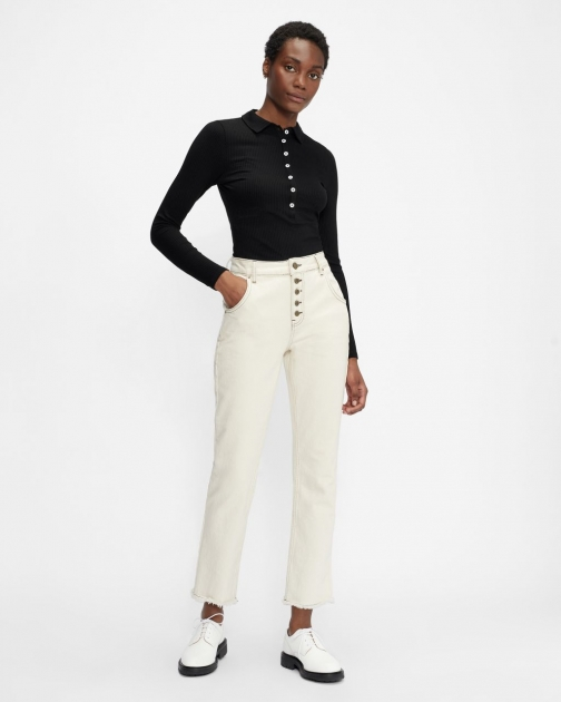 Ted Baker Jersey Long Sleeve Top