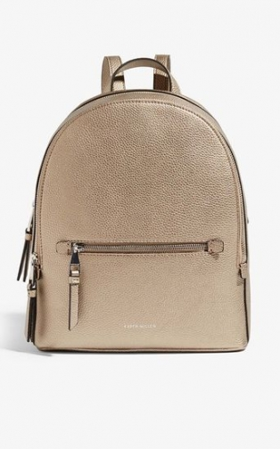 Karen Millen Pebble Detail Backpack