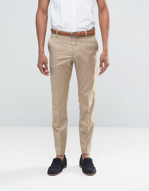 Selected Homme Sand Suit Trouser