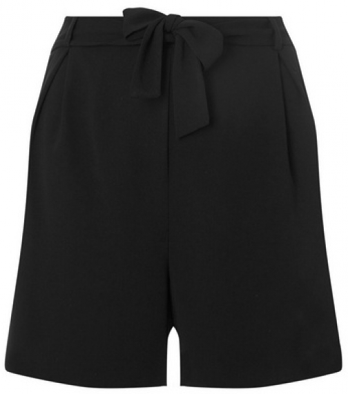 Dorothy Perkins Dp Curve Black Belted Short