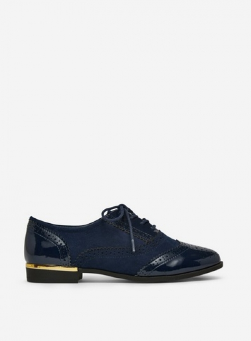 Dorothy Perkins Navy 'Lou Lou' Loafers Shoes