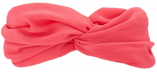Forever21 Forever 21 Twist Front Headwrap , Hot Pink Headwear