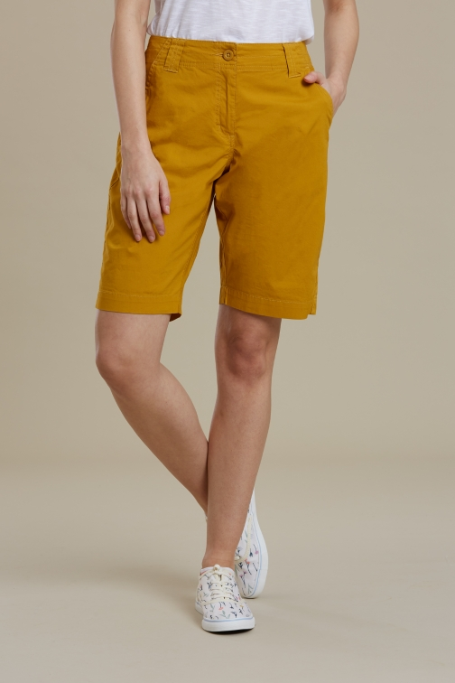 Mountain Warehouse Coast Stretch Womens - Yellow Short