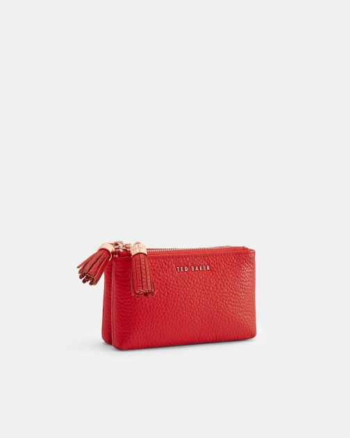 Ted Baker Tassel Double Leather Coin Purse