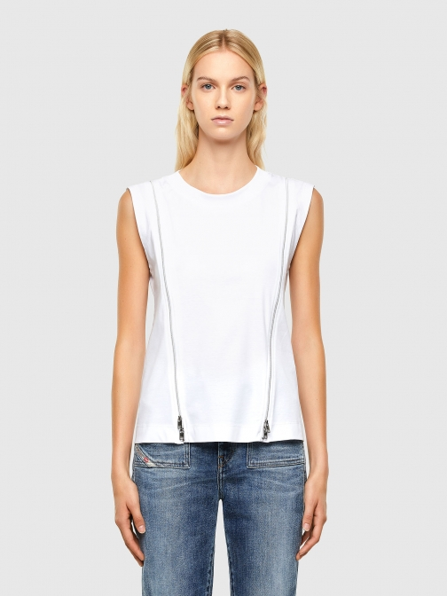 Diesel Tops 0QANW - White - XXS Shirt