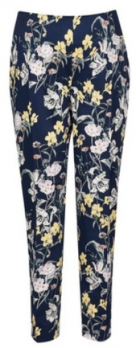 Dorothy Perkins Maternity Floral Ankle Grazer Trousers Trouser