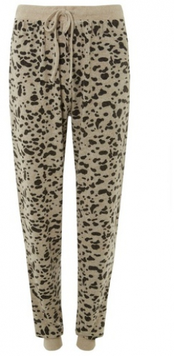 Dorothy Perkins Tall Multi Coloured Leopard Print Brushed Jogger