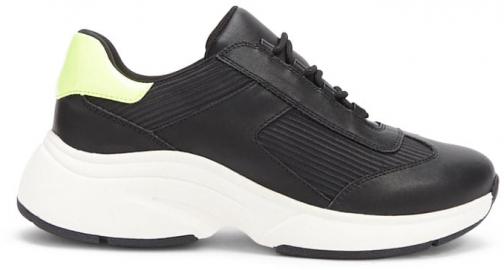 Forever21 Forever 21 Colorblock Low-Top Sneakers Black Trainer
