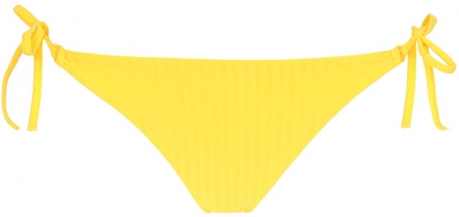 Calzedonia - Diana Ribbed Side Bottoms, S, Yellow, Women Tie