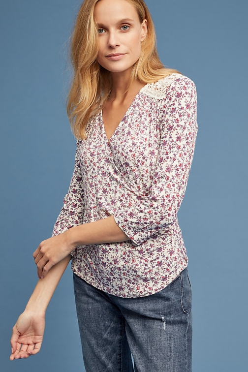 Anthropologie Marywood Wrap - Assorted, Size Top