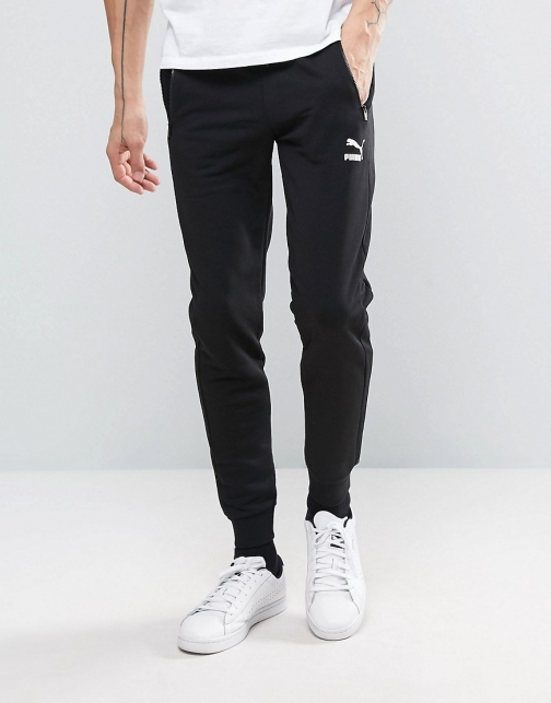 Puma Tapered Joggers Black Exclusive To ASOS Trouser