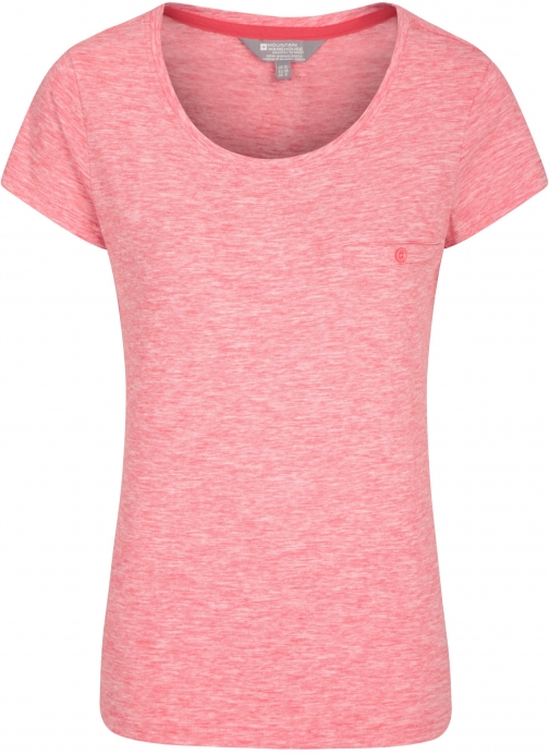 Mountain Warehouse Thurlestone Striped Womens - Red T-Shirt
