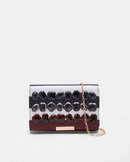 Ted Baker Rowing Stripe Evening Bag